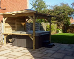 Hot Tub Installation for Paul Watson, Hedon