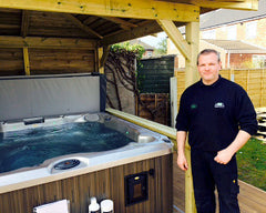 Hot Tub Installation for the Winters, Anlaby