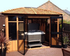 Hot Tub Installation for Mr Young, Hull