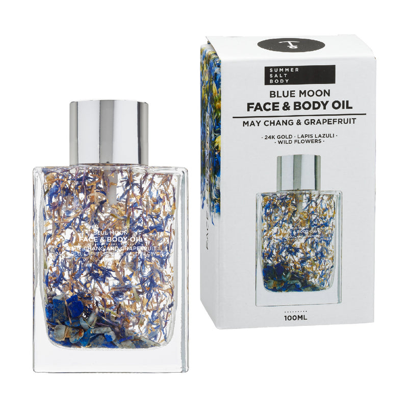 Blue Moon Face & Body Oil - 100ml