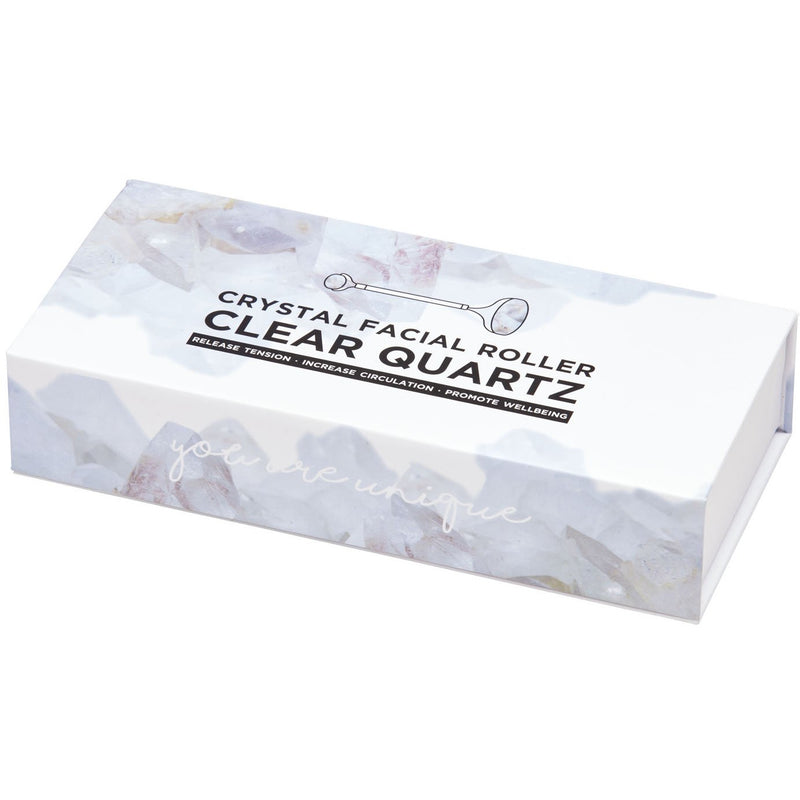 Clear Quartz Facial Roller