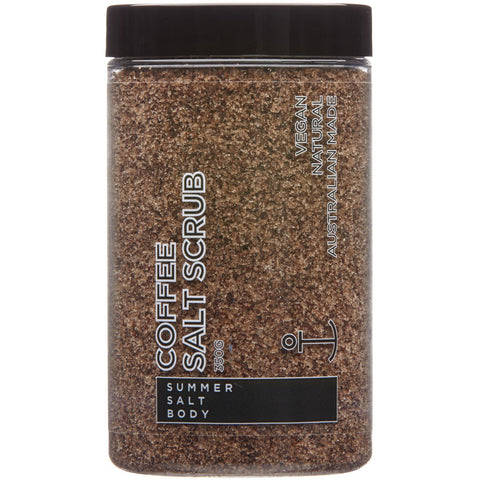 Coffee Salt Scrub - 350g Tub