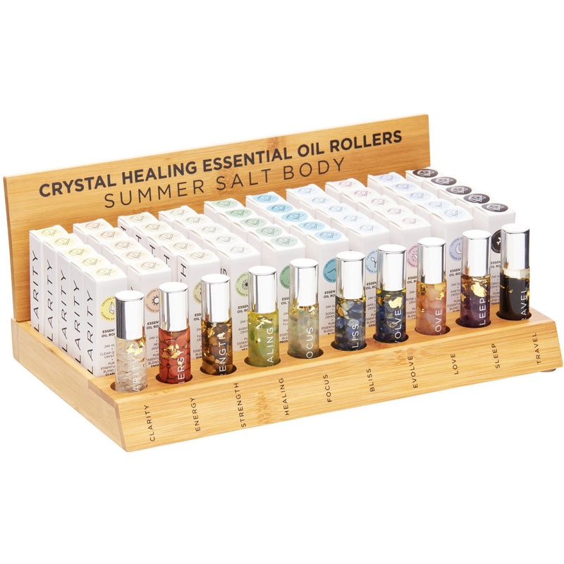 Essential Oil Display Stand - Complete Set + Testers