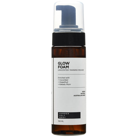 Glow Foam - Tanning Mousse 150ml + with Application Mitt