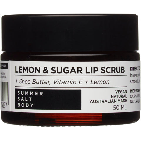 Lemon & Sugar Lip Scrub 50ml