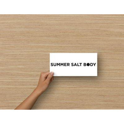 Summer Salt Body Gift Voucher