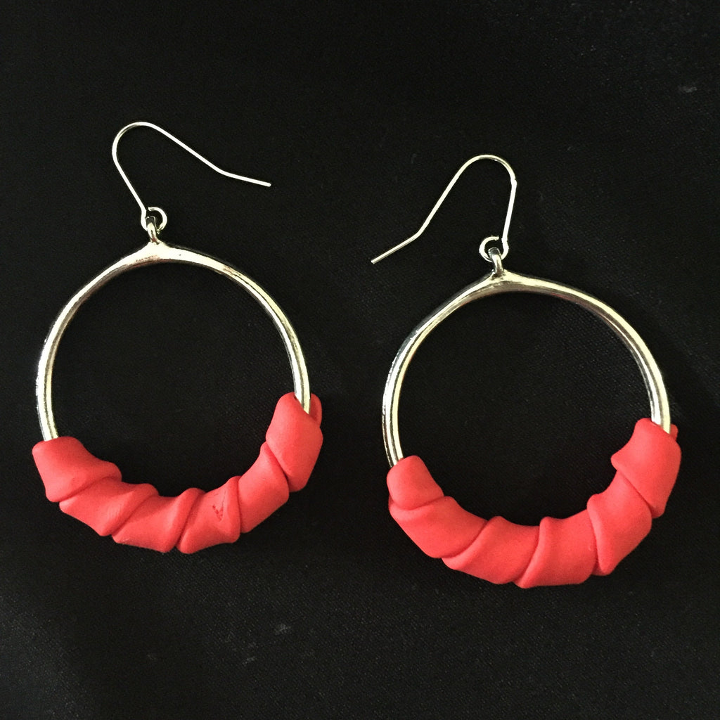 Hoop da loop earrings