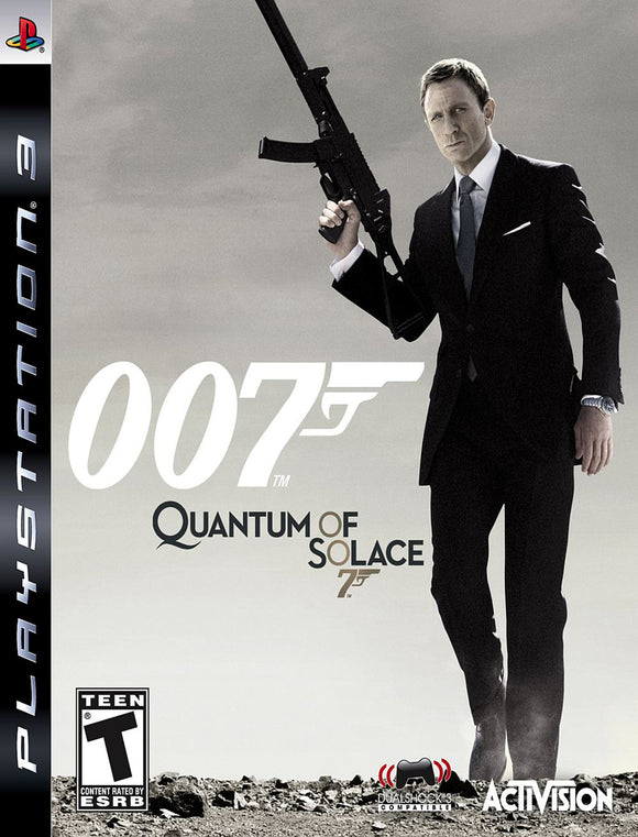 PS3 007 Quantum of Solace Koriscena