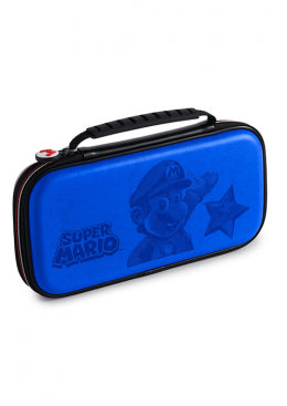 Nintendo Switch Travel Case Mario Blue