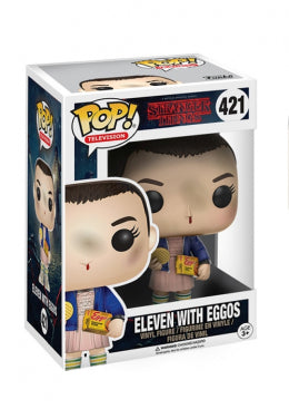Stranger Things  POP! Vynil - Eleven W/ Eggos (Limited Edition)