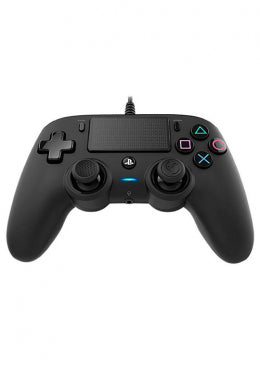 Nacon PS4 Wired Illuminated Compact Controller Black