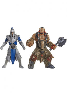 Warcraft Mini Figure 2-Pack Alliance Soldier vs. Durotan 6 cm