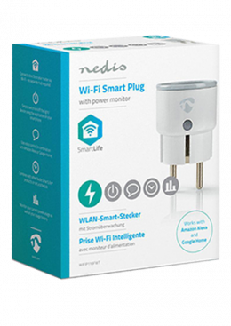 Nedis Smart Plug | Power Monitor | Schuko Type F | 10A