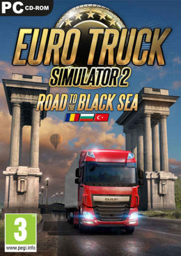 PC Euro Truck Simulator 2 - Road to the Black Sea