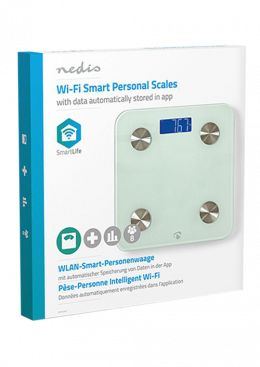 Nedis Smart Personal Scales | BMI
