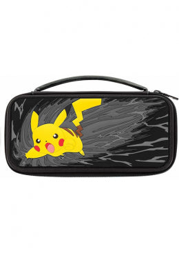 Nintendo Switch Travel Case - Pikachu Grayscale