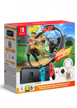 Nintendo Switch Console 1.1 + Ring Fit Adventures