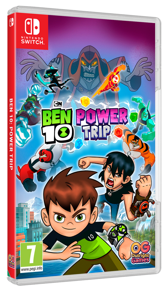 SWITCH Ben 10: Power trip!