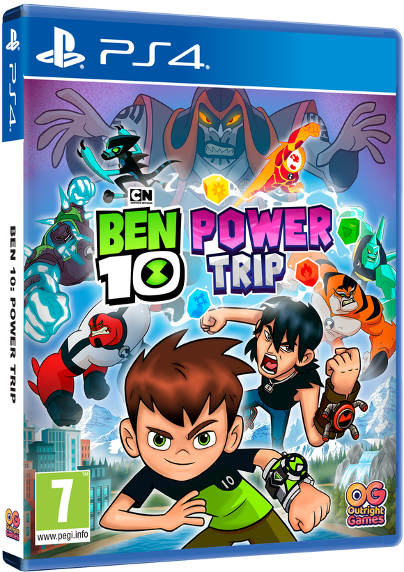 PS4 Ben 10: Power trip!