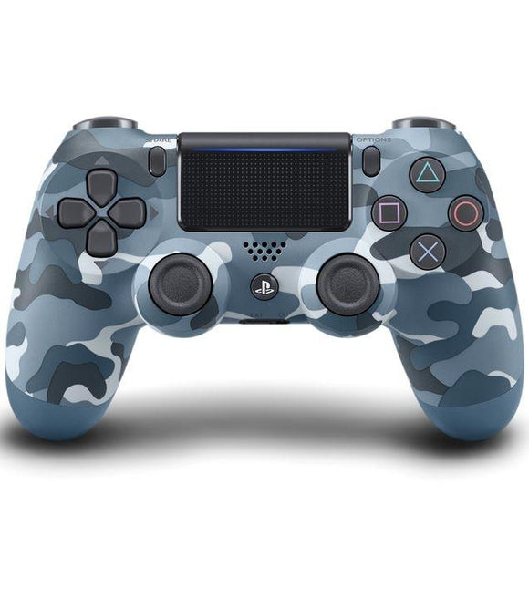 DualShock 4 Wireless Controller PS4 Blue Camouflage