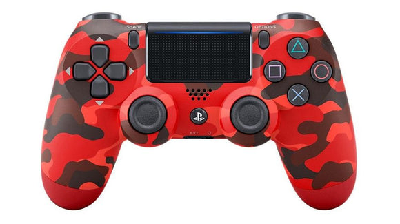 DualShock 4 Wireless Controller PS4 Red Camouflage