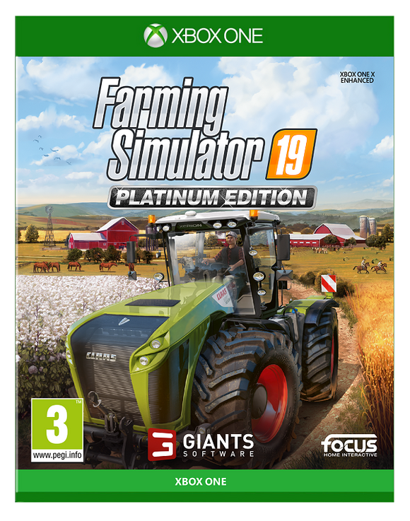 XBOXONE Farming Simulator 19 - Platinum Edition