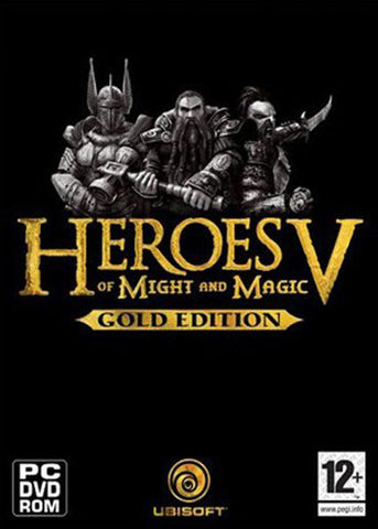 PC Heroes of Might & Magic 5 Gold (HOMM5 + Hamers of Fate + Tribes of the East), MB