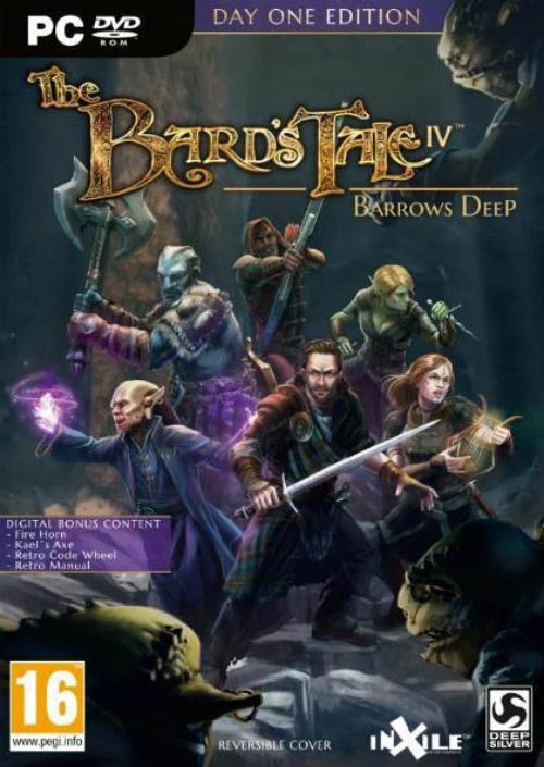 PC Bard's Tale IV: Barrows Deep