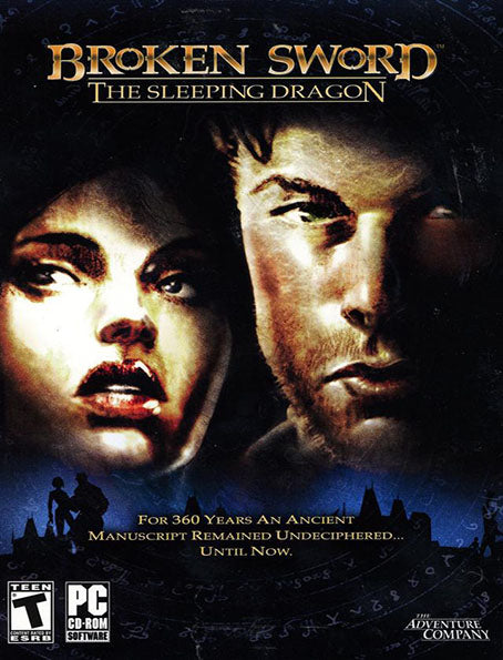 PC Broken Sword 3 Sleeping Dragon