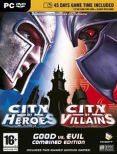 PC City of Heroes & City of Villains - Good vs. Evil Edition, MB