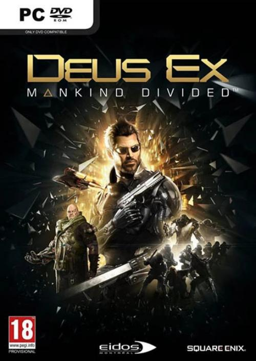PC DEUS EX Mankind Divided