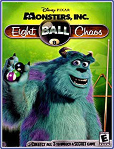 PC Disney Monsters Inc Wreck Room: Eight Ball Chaos