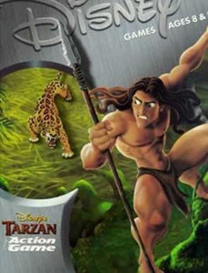 PC Disney Tarzan Action Game