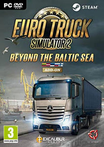 PC Euro Truck Simulator 2 - Beyond the Baltic Sea