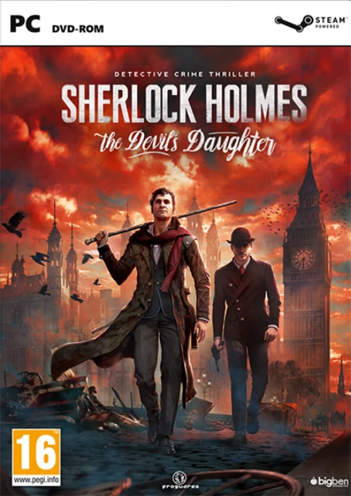 PC Sherlock Holmes The Devils Daughter