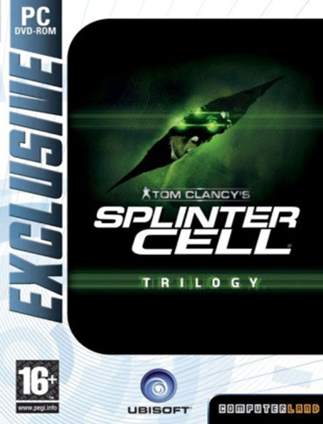 PC Splinter Cell Trilogy (Splinter Cell + Pandora Tomorrow + Chaos Theory)