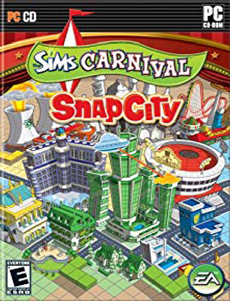 PC The Sims Carnival: SnapCity
