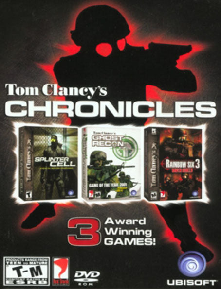 PC Tom Clancy's Chronicles (Splinter Cell, Ghost Recon, Rainbow Six 3)