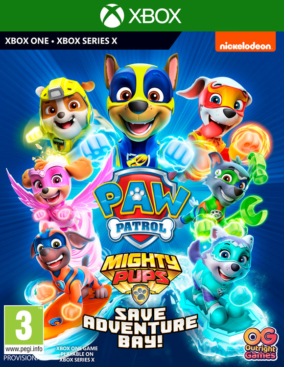 XBOXONE Paw Patrol: Mighty Pups Save Adventure Bay