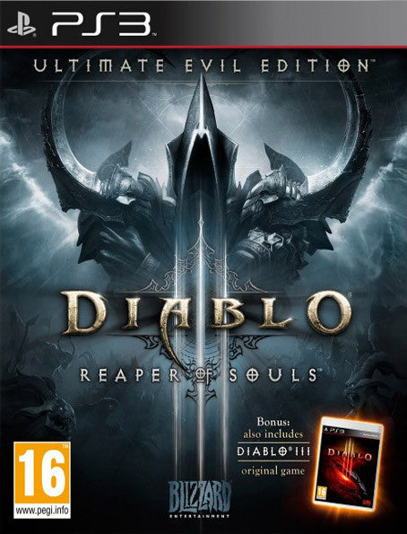PS3 Diablo 3 Ultimate Evil Edition (D3 + Reaper of Souls)