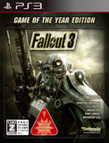 PS3 Fallout 3 Game Of The Year