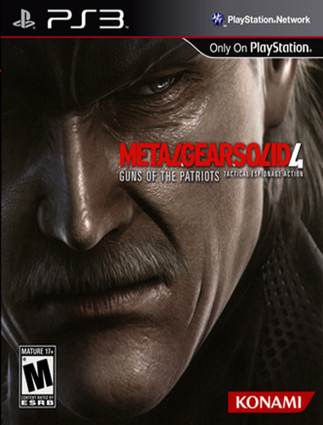 PS3 Metal Gear Solid 4 Guns of the Patriots