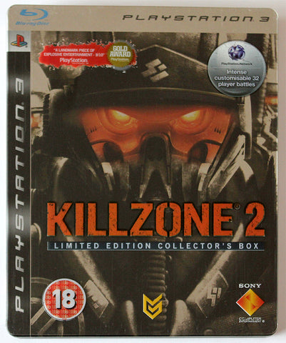 PS3 Killzone 2 Limited Edition Collectors Box Korišćena