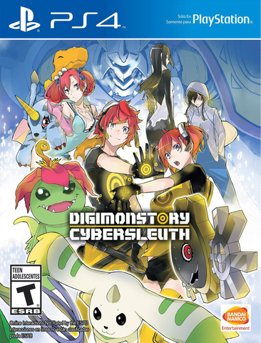PS4 Digimon Story: Cyber Sleuth