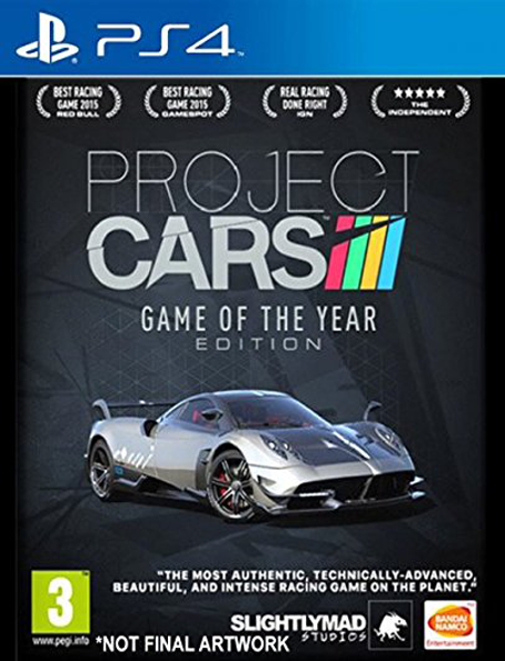 PS4 Project Cars GOTY