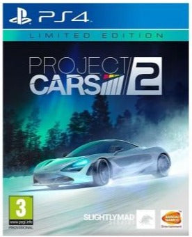 PS4 Project CARS 2 Steelbook