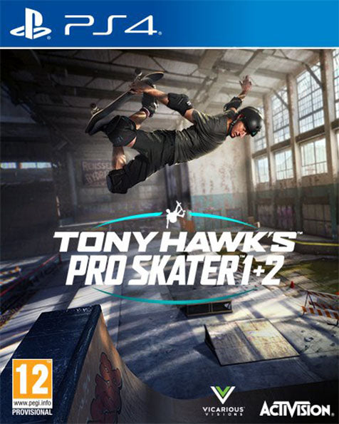 PS4 Tony Hawk's Pro Skater 1 and 2