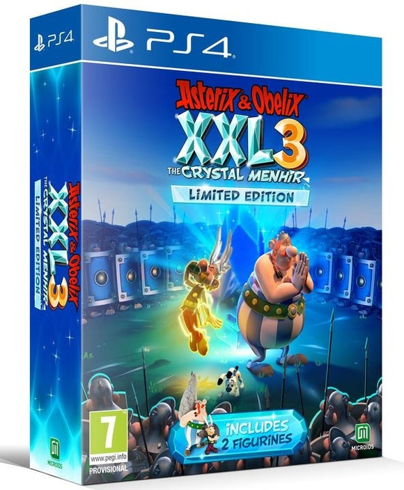 PS4 Asterix & Obelix XXL 3 - The Crystal Menhir - Limited Edition
