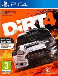 PS4 Colin McRae Dirt 4