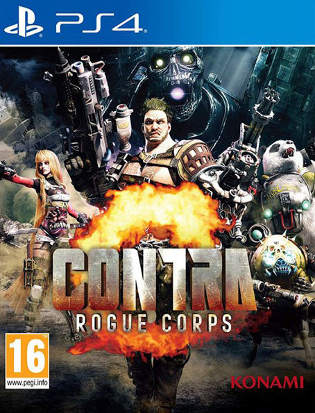 PS4 Contra – Rogue Corps